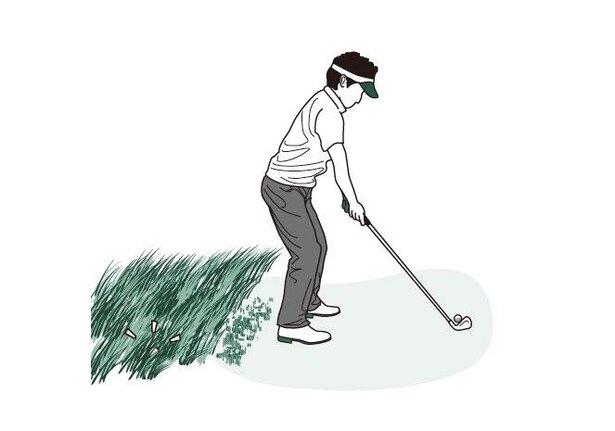 打ったボールが見当たらない。付近でドロップしてプレーを続けてもいい?/ゴルフルール(4)1