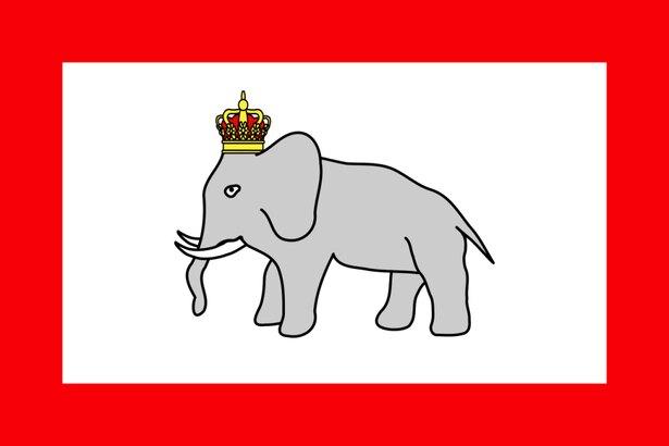 まるでゆるキャラ! 落書きレベルの国旗がかわいいダホメ王国は強い国だった/毎日雑学2