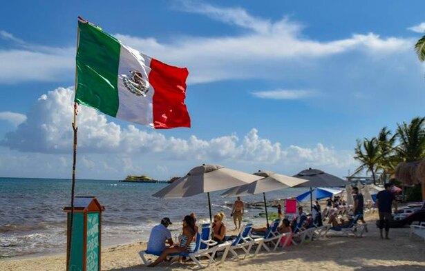 メキシコのプラヤデルカルメン。メキシコはテツさんの好きな国の一つ