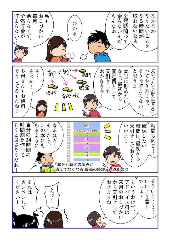 参照:『お金と時間の悩みが消えてなくなる 最高の時短』( 米山彩香著、KADOKAWA)