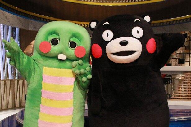 ©フジテレビ ©2010 熊本 くまモン 協力:銀座熊本館