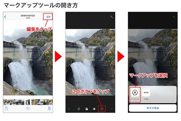 仕事で使える Iphoneの 写真書き込み機能 カンタン活用術
