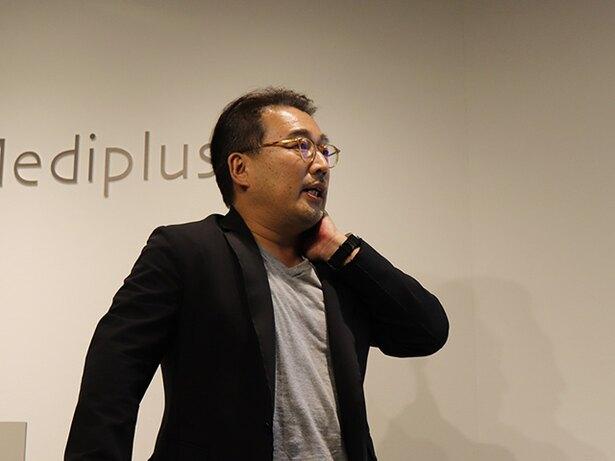 登壇した株式会社べネクス副社長で医学博士の片野秀樹さん