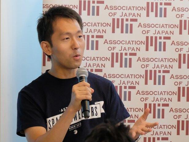 Astroscale Japan Inc.の小林裕亮氏